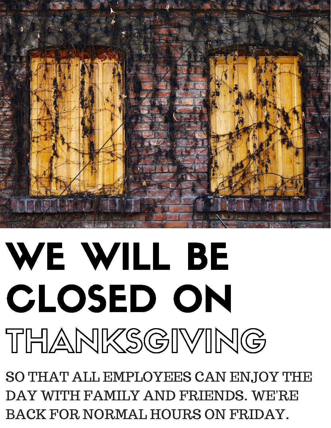 closed-thanksgiving